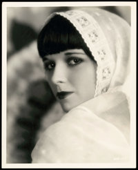 "Louise Brooks in Now We're in the Air by Eugene Robert Richee(Paramount, 1927). Portrait Photo (8"" X 10"")"