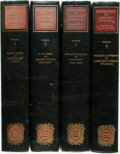 Books:Reference & Bibliography, [Bibliography] Blanck, Jacob. Bibliography of American Literature.Includes: Volume One, Henry Adams To Donn Byrne. Volume T...(Total: 4 Items)