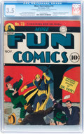 Golden Age (1938-1955):Superhero, More Fun Comics #73 (DC, 1941) CGC VG- 3.5 Cream to off-whitepages....