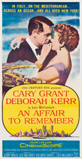 "Movie Posters:Romance, An Affair to Remember (20th Century Fox, 1957). Three Sheet (41"" X79.25"").. ..."