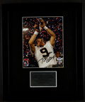 Football Collectibles:Photos, Drew Brees Signed Photograph....