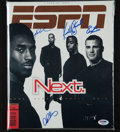 "Miscellaneous Collectibles:General, 1998 Bryant, Stewart, Lindros and Rodriguez Multi Signed ""ESPN""Magazine...."