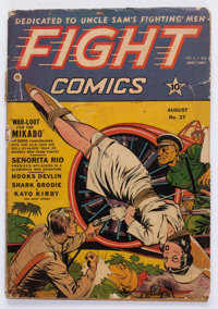 Fight Comics #27 (Fiction House, 1943) Condition: FR