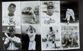 Autographs:Photos, Negro League Legends Signed Photos And Postcards Lot Of 15....
