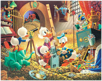 Carl Barks An Embarrassment of Riches Limited Edition Print #59/395 (Another Rainbow, 1983).... (Total: 2 Items)