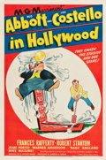 "Movie Posters:Comedy, Abbott and Costello in Hollywood (MGM, 1945). One Sheet (27.25"" X41"").. ..."