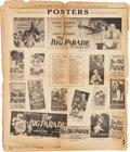 "Movie Posters:Historical Drama, Ben-Hur & Big Parade Lot (MGM, 1925). Pressbooks (2) (MultiplePages, 17.5"" X 21"").. ... (Total: 2 Items)"
