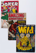 Golden Age (1938-1955):Miscellaneous, Atlas/Timely Golden and Silver Age Comics Group (Atlas, 1947-62) Condition: Average FR/GD.... (Total: 14 Comic Books)