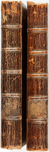 Books:Literature Pre-1900, [Ovid]. Ovid's Metamorphoses, in Fifteen Books. London:Samuel Garth for J. and R. Tonson, 1736. Fourth edition. Two...(Total: 2 Items)