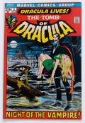 Bronze Age (1970-1979):Horror, Tomb of Dracula #1 (Marvel, 1972) Condition: VF-....