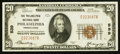 National Bank Notes:Pennsylvania, Philadelphia, PA - $20 1929 Ty. 1 The Philadelphia NB Ch. # 539....