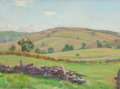 Fine Art - Painting, American:Modern  (1900 1949)  , JOHN NEWTON HOWITT (American, 1885-1958). The Hill, Pawling. Oil on canvasboard. 12 x 16 inches (30.5 x 40.6 cm). Signed...