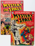 Golden Age (1938-1955):Science Fiction, Mystery in Space #4 and 6 Group (DC, 1951-52) Condition: AverageVG.... (Total: 2 Comic Books)