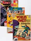 Golden Age (1938-1955):Miscellaneous, DC Golden to Silver Age Comics Group (DC, 1948-60) Condition: Average GD.... (Total: 4 Comic Books)
