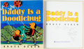 Books:Children's Books, Bruce Degen. SIGNED WITH ORIGINAL DRAWING. Daddy is aDoodlebug. HarperCollins, [2000]. First edition. Signed by t...