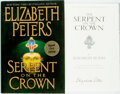 Books:Mystery & Detective Fiction, Elizabeth Peters. SIGNED. The Serpent on the Crown. WilliamMorrow, [2005]. First edition. Signed by the author. ...