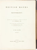 Books:Natural History Books & Prints, H.N. Humphreys and J.O. Westwood. British Moths and Their Transformations. London: William Smith, 1845. Volume two o...