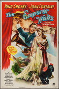 """Movie Posters:Musical, The Emperor Waltz (Paramount, 1948). One Sheet (27"""" X 41""""). Musical.. ..."""