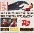 "Movie Posters:Science Fiction, The Fly (20th Century Fox, 1958). Six Sheet (79.5"" X 81"").. ..."