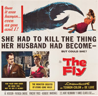 "The Fly (20th Century Fox, 1958). Six Sheet (79.5"" X 81""). Science Fiction"