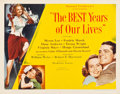 "Movie Posters:Drama, The Best Years of Our Lives (RKO, 1946). Half Sheet (22"" X 28"") Style B.. ..."