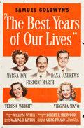 "Movie Posters:Drama, The Best Years of Our Lives (RKO, 1946). One Sheet (27"" X 41"")Style A.. ..."