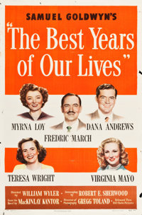 """The Best Years of Our Lives (RKO, 1946). One Sheet (27"""" X 41"""") Style A"""