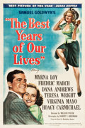 "Movie Posters:Drama, The Best Years of Our Lives (RKO, 1946). One Sheet (27"" X 41"")Style B.. ..."