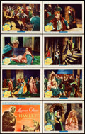 "Movie Posters:Drama, Hamlet (Universal International, 1949). Lobby Card Set of 8 (11"" X14"").. ... (Total: 8 Items)"
