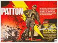 "Movie Posters:War, Patton (20th Century Fox, 1970). British Quad (30"" X 40"").. ..."