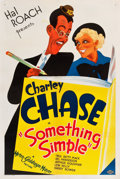 """Movie Posters:Comedy, Something Simple (MGM, 1934). One Sheet (27"""" X 41"""").. ..."""