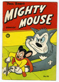 Golden Age (1938-1955):Cartoon Character, Mighty Mouse #26 Triple Cover (St. John, 1951) Condition: VG+....