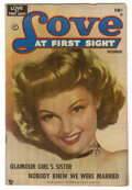 "Golden Age (1938-1955):Romance, Love at First Sight #2 Davis Crippen (""D"" Copy) pedigree (Ace,1949) Condition: VF...."