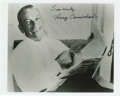 "Music Memorabilia:Autographs and Signed Items, Hoagy Carmichael Signed Photo. A b&w 8"" x 10"" photo inscribedand signed by the singer in black ink. In Excellent condition....(Total: 1 Item)"