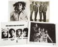 "Music Memorabilia:Photos, Bob Marley and The Four Tops Press Photos. Set of four b&w 8"" x10"" press photos includes two shots of Bob Marley and two of...(Total: 1 Item)"