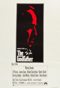 """Movie Posters:Crime, The Godfather (Paramount, 1972). British One Sheet (27"""" X 40"""").. ..."""