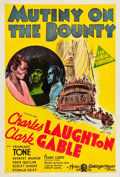 "Movie Posters:Academy Award Winners, Mutiny on the Bounty (MGM, 1935). Australian One Sheet (27"" X 40"").. ..."