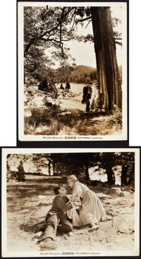 "Janet Gaynor and George O'Brien in Sunrise (Fox, 1927). Photos (8) (8"" X 10""). ... (Total: 8 Items)"