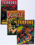 Golden Age (1938-1955):Horror, Terrors of the Jungle Group (Star Publications, 1952-53) Condition:Average VG.... (Total: 5 Comic Books)