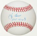 "Autographs:Baseballs, Yogi Berra ""HOF 1972 -#8 "" Single Signed Baseball WithInscription...."