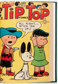 Golden Age (1938-1955):Miscellaneous, Tip Top Comics #171-188 Bound Volume (United Features Syndicate/Standard, 1951-54)....