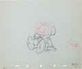 Animation Art:Production Drawing, The Sorcerer's Apprentice Mickey Mouse Production DrawingAnimation Art (Disney, 1940)....