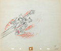 Animation Art:Production Drawing, Moose Hunters Goofy Production Drawing Animation Art(Disney, 1937)....