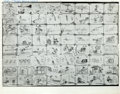 animation art:Model Sheet, Truant Officer Donald Storyboard Group Animation Art (Disney, 1941).... (Total: 2 Items)