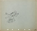 Animation Art:Production Drawing, Mickey's Rival Minnie Mouse and Mortimer Production DrawingAnimation Art Group (Walt Disney, 1936).... (Total: 2 Items)
