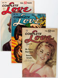 Golden Age (1938-1955):Romance, Complete Love Magazine Group (Ace, 1951-56) Condition: AverageFN.... (Total: 17 Comic Books)