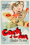"Movie Posters:Comedy, Cock of the Air (United Artists, 1932). One Sheet (27"" X 41"").. ..."