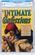 Golden Age (1938-1955):Romance, Intimate Confessions #3 Mile High pedigree (Realistic Comics, 1951)CGC FN 6.0 Off-white pages....