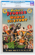 Golden Age (1938-1955):Non-Fiction, Picture Stories from World History #1 Gaines File pedigree 2/11(EC, 1947) CGC NM 9.4 Off-white to white pages....