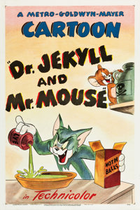 """Dr. Jekyll and Mr. Mouse (MGM, 1947). One Sheet (27.25"""" X 41"""")"""